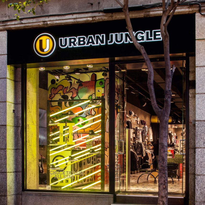 Tienda Urban Jungle Madrid